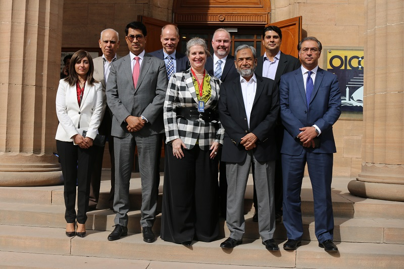 New US Consul General, Karachi, Ms JoAnne Wagner, visits the OICCI